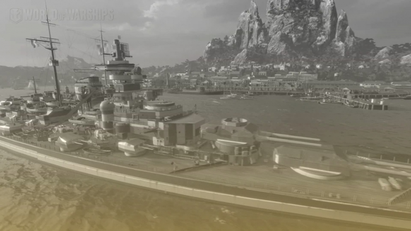World of Warships   Cesta k Duke of York   bitva u severního mysu 5