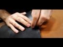 MioTorro. Изготовление портмоне из кожи_Making leather wallet