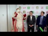 Предновогоднее путешествие Деда Мороза по России поддержали «РЖД» и «НТВ»