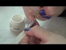 Мастер-класс Вязание на ногтях. Косичка-ромбики. Эффект вязания, косичка на ногтях.