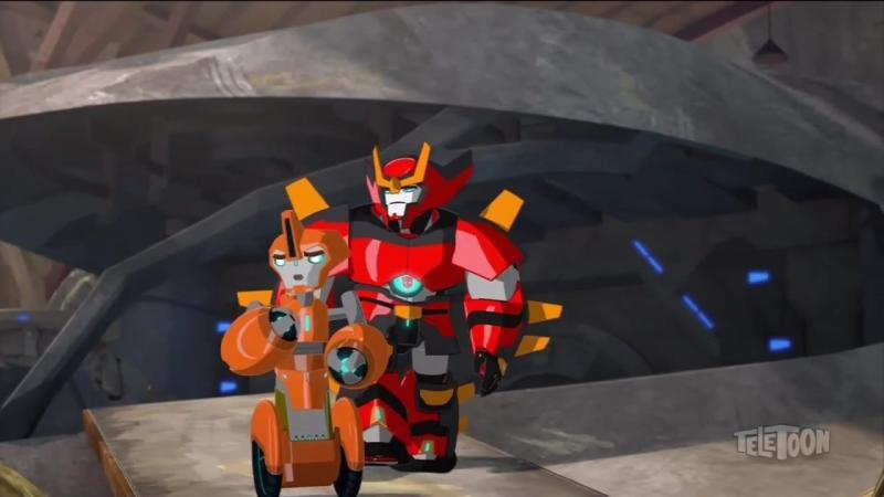 Роботы под прикрытием 3-11 (англ. озвучка)