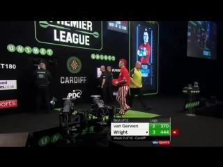 Michael van Gerwen vs Peter Wright (2018 Premier League Darts / Week 2)
