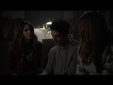 Малия,Скотт и Лидия слушают голосовое сообщение от Стайлза  6х11