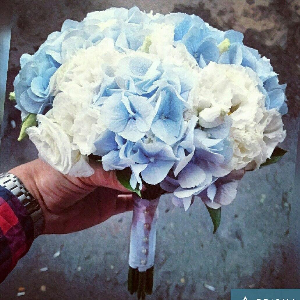 Гортензия свадебные букеты фото, невесты чайных роз