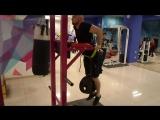 Николай Северский отжимание на брусьях свой вес 80 кг + 40 кг