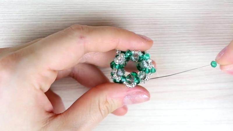 Серьги кисточки из ниток своими руками. Tutorial- Tassel Earrings DIY