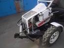 Как сделать самодельный мини трактор