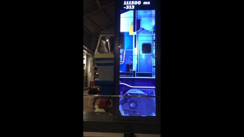 X-ray scaner тепловоз ТЭП 70-0007