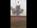 Ковровая бомбардировка c Ту22 по боевикам ИГ в селении Al Siyal