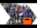 Jonny Walker and Taddy Blazusiak sharing some Enduro tricks | KTM