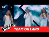 Dafne, Svend, Sara (Team Oh Land) Kiss From A Rose af Seal Super Battle Voice Junior 2017