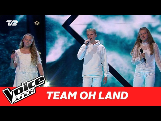 "Dafne, Svend, Sara (Team Oh Land) | ""Kiss From A Rose"" af Seal 