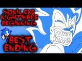 SONIC.EXE NIGHTMARE BEGINNING - BEST ENDING - WE KILLED SONIC.EXE Sonic Horror Game