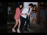 Akshay Kumar's son Aarav snapped with his girlfriend at Bandra