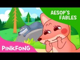 The Donkey Fox and the Wolf Aesop's Fables Pinkfong Story Time for Children