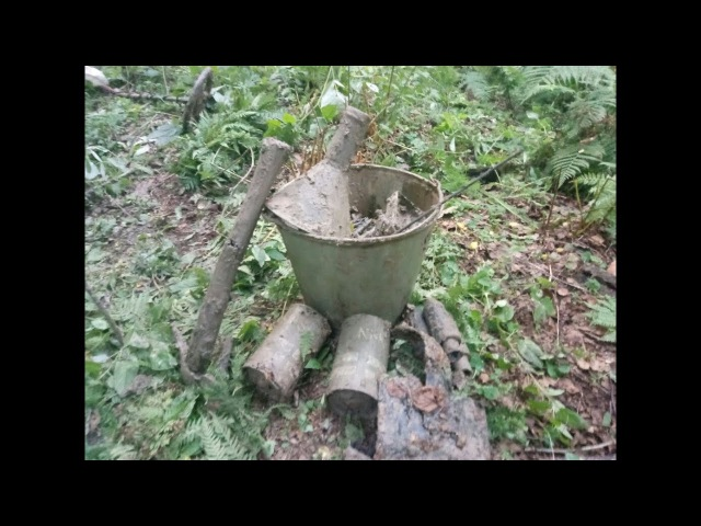 Раскопки блиндажей №4 / Searching relics of WW2