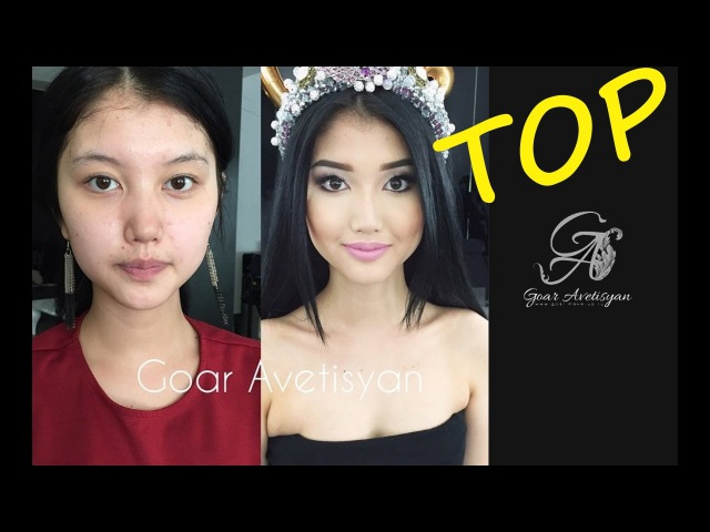 Top 40 Aazing befor and after by Professional makeup artist Goar Avetisyan!
