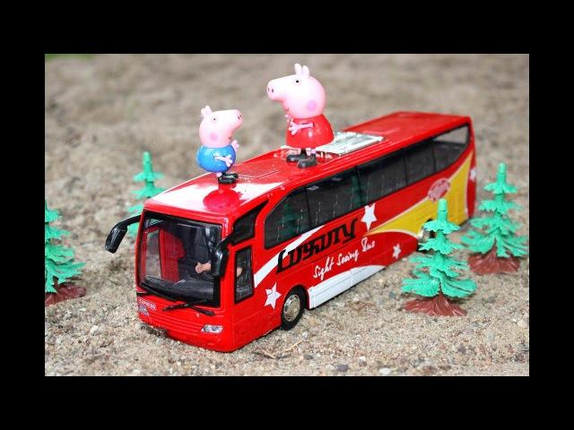Мультики про Машинки для Детей Городской Транспорт Автобус Игрушки для Мальчиков