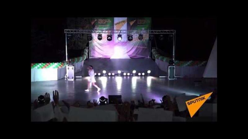 Концерт участников шоу Ты супер! в лагере Орленок 4 августа. Полная версия