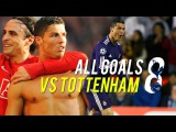 Cristiano Ronaldo All Goals Vs Tottenham HD