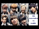BTS Expectation Vs Reality 5 Kpop [VKG]