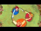 Три девицы - На златом крыльце сидели... (Добрыня Никитич и Змей Горыныч)