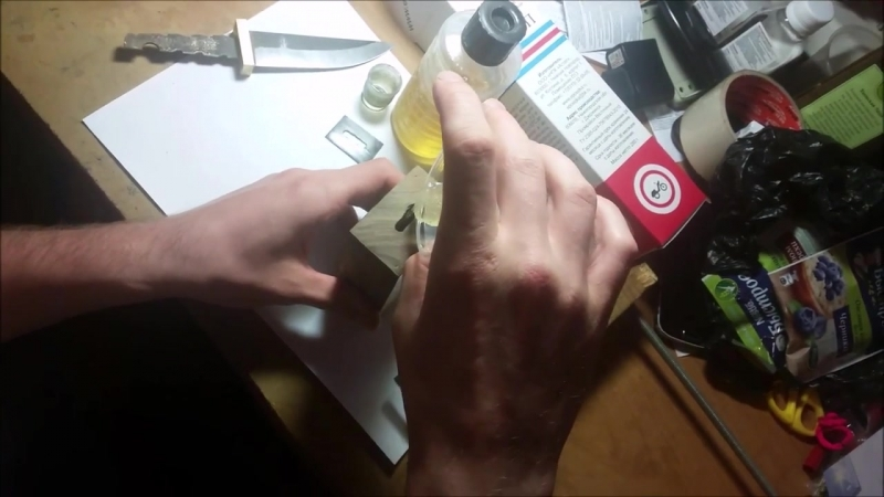 изготовление ножа из быстрореза Р6М5 (мехпилы)