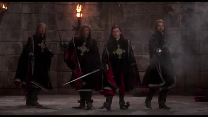 Честь и доблесть за свою Родину Бой мушкетеров за Короля Людовика.