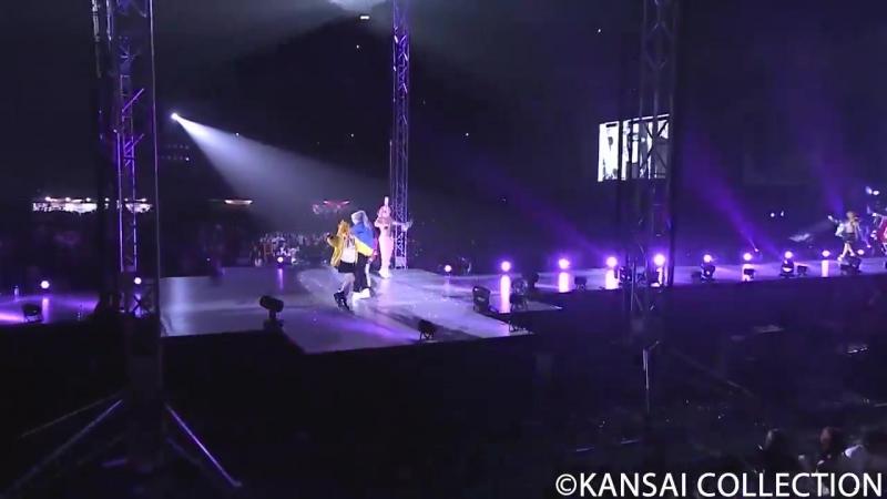CANDY KEN IN OSAKA JAPAN (LIVE PERFORMANCE) - KANSAI COLLECTION - MICHIKO LONDON KOSHINO