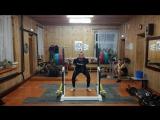 Присед.220kg.x4