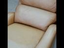 Покраска кожаной мебели