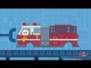 Fire Truck Finleys Factory Ep.4 Cartoon for kids