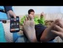 Foot tickling challenge.mp4