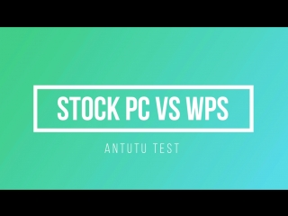 WPS Comparison Split Screen (Antutu)