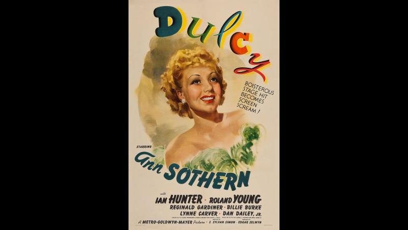 Dulcy (1940) Ann Sothern, Ian Hunter, Dan Dailey