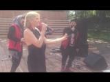 Выступление 3XLPRO во Пскове (День ЖД)
