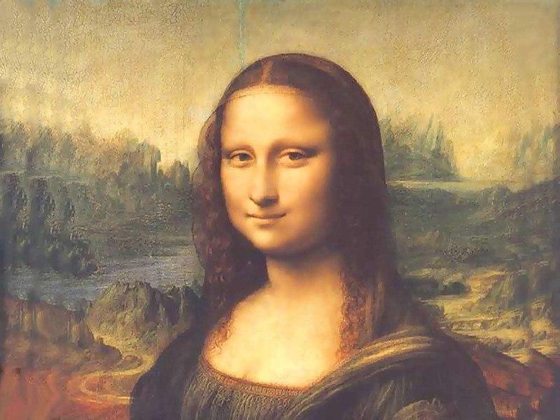 """Мона Лиза"" Леонардо да Винчи"