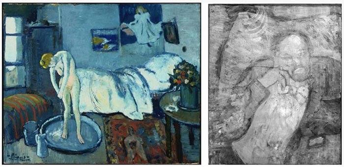 "Пикассо ""Голубая комната"" (Ванна)."