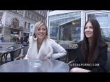 Rebecca Volpetti &amp Ria Sunn Gape, DP, Anal, 720p