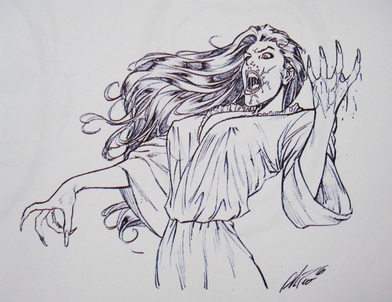 Как нарисовать лицо в анфас и профиль: рисуем женскую голову