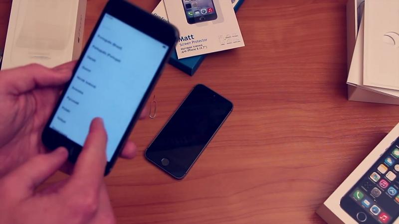 [Apple The Best] iPhone 6 - распаковка и первые впечатления