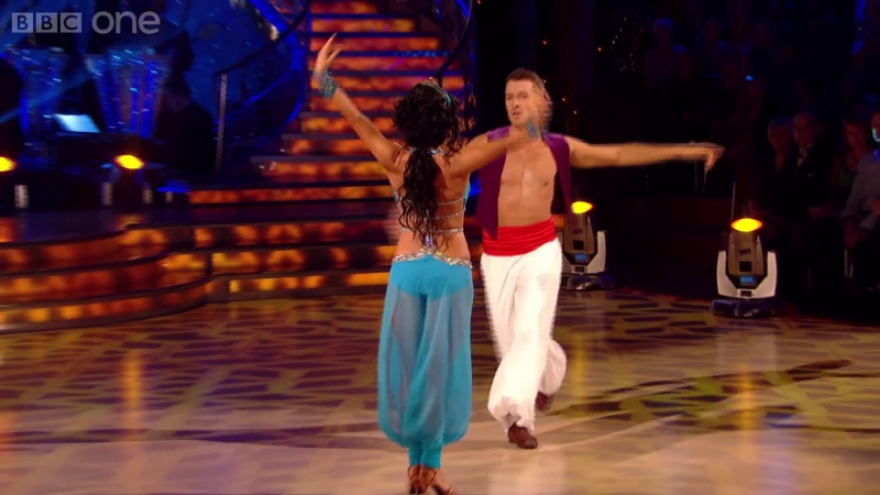 Ashley Taylor Dawson Ola dance the Rumba to A Whole New World - Strictly Come Dancing - BBC One