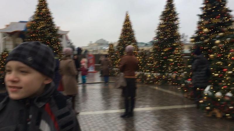 Новогодняя карусель Москва 2018