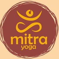 "Логотип Йога в Омске Студия ""Митра"" Хатха йога"