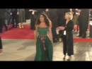 Salma Hayek and Peter Fonda arrive at the 29th annual palm springs international