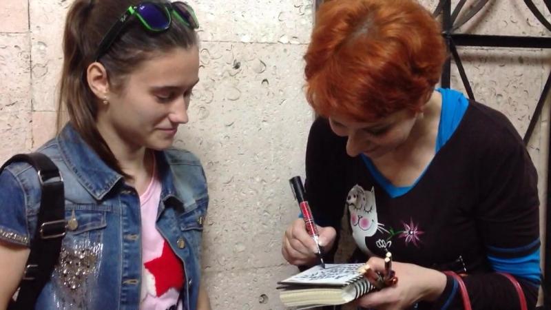 Встреча после спектакля Авантюристка или как найти мужа с актрисой Оксаной Сташенко в Рязани 20 06 17