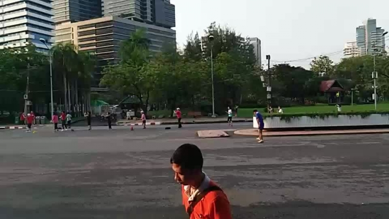 Тайланд, Бангкок, парк Люмпини