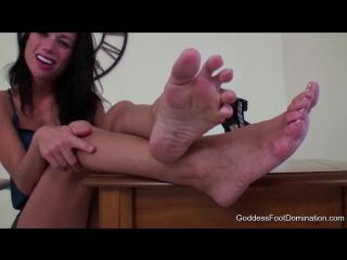 Goddess Veronika - Goddessfootdomination.Com - Goddess Veronika Earning Your Raise
