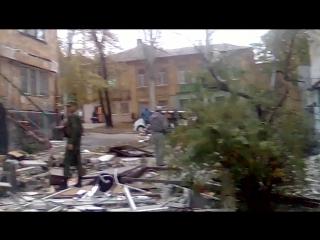 Взрыв в центре Донецка