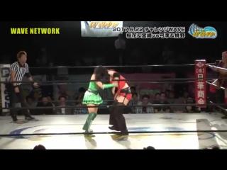 Kyuri, Mio Momono vs. Yuki Miyazaki, Yumi Ohka (WAVE - Weekday WAVE Vol. 108)